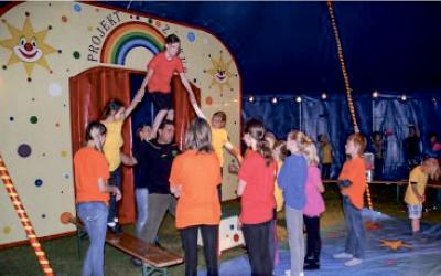 Zirkusprojekt als Ferienangebot