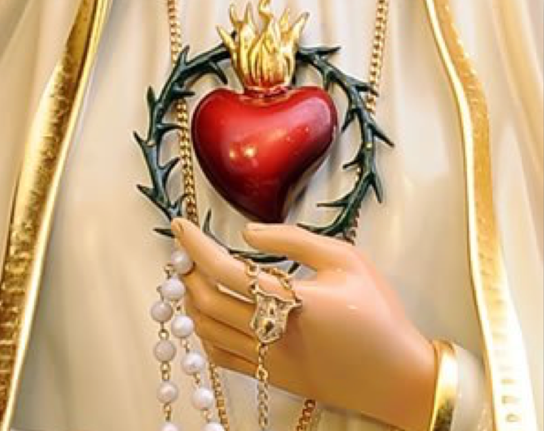 Erneuerung der Weihe an das Unbefleckte Herz Marias