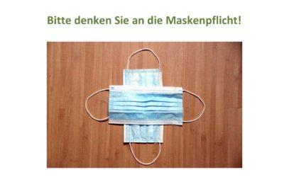Maskenpflicht in Gottesdiensten
